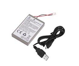 1 st 2000 mAh Oplaadbare Batterij voor Sony Playstation PS4 Controller Kabel Drop Verzending Groothandel Elektronika<br />  ACEHE