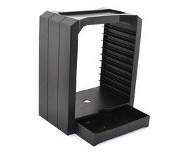 DiscStorage Multifunctionele Universele Games &amp; Blu Ray Disc Opslag Toren voor Xbox Een voor PS4 <br />  xunbeifang