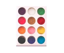 12 Mix Kleuren Acryl Poeder Nail Art Dust Poeder Decoratie voor Nail Poeder top kwaliteit <br />  YKS