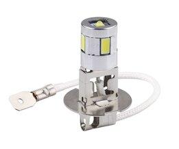 H3 auto licht cree led Chips high power lamp 5630 smd Auto auto led-lampen Auto Lichtbron parking 12 V 6000 K Hoofd Mistlampen D030 <br />  S&amp;D