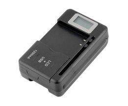 In voorraadmobiele Universele Batterij Oplader USB-Poort LCD Indicator Scherm Voor Mobiele TelefoonsCollectie <br />  Dpower