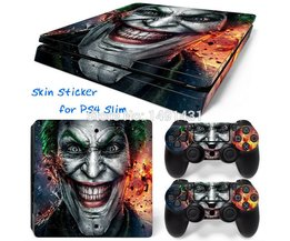 OSTSTICKER Joker Vleermuis Vinyl Decal beschermende Skin Sticker voor sony playstation 4 Slim voor PS4 Slim sticker China fabrikant <br />  MyXL