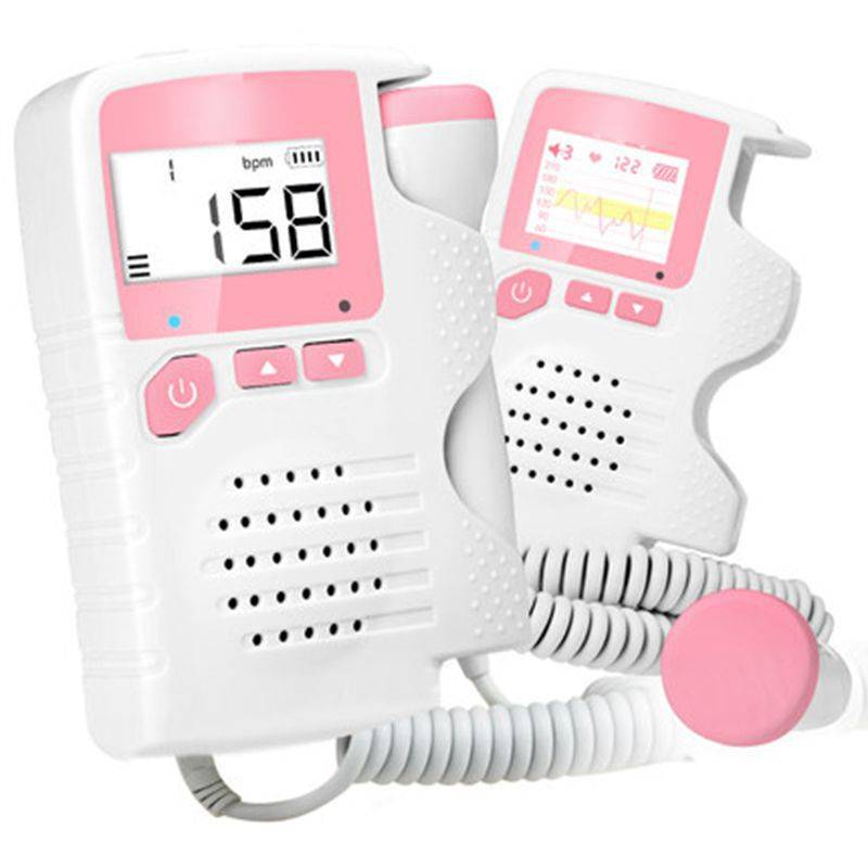 Pocket foetale doppler, Prenatale Baby Heart Beat Monitor 4.5 Display Foetale Doppler Monitor Voor Z