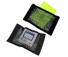Auto Kofferbak Seat Elastische String Opslag Mesh netto Zak Bagage Holder Pocket Sticker Kofferbak Organizer Seat Terug tas <br />  MyXL