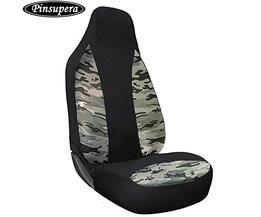 Ademend Camouflage Mesh Stoelhoezen Universal Fit voor Meest Auto, Truck, SUV, of Van (Side Airbag Compatibel)-1 stuk  <br />  <br />  PINSUPERA