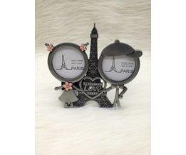 Romantische Fotolijst Eiffel toren