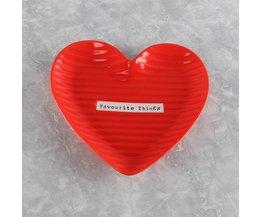 Hartvormige schalen