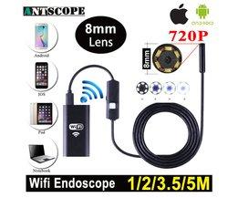 Endoscoop met camera en WiFi