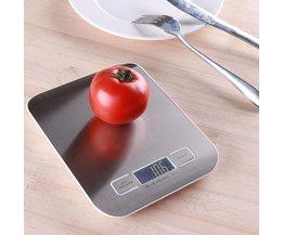 Precisie Weegschaal Digitaal voor in de keuken