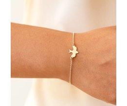 Dames Kleine Armband Vogel
