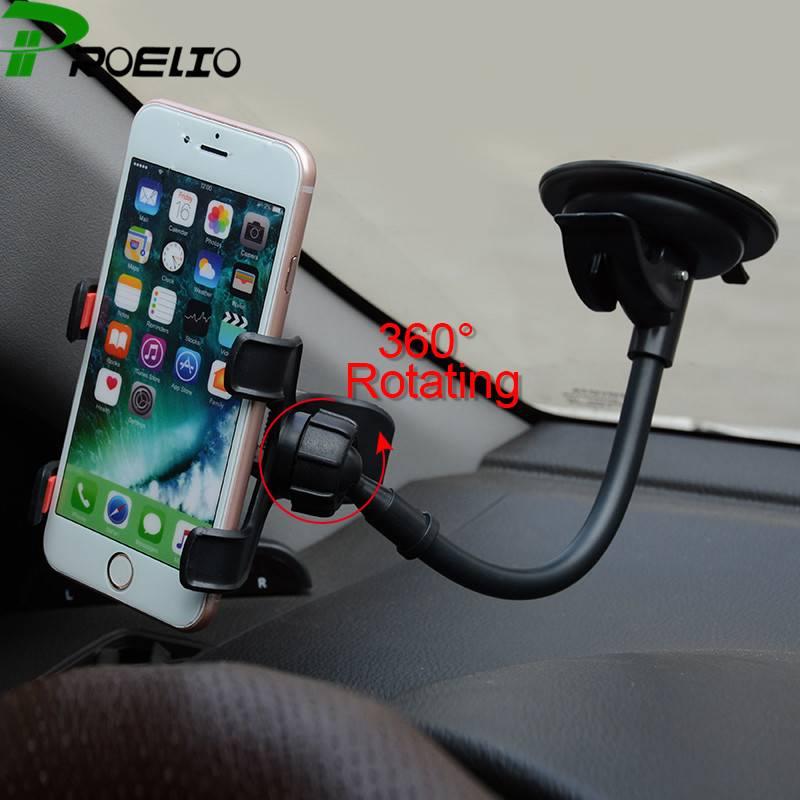 Dagaanbieding: Universele Telefoonhouder Auto met Zuignap Roteerbaar