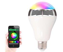Smart Lamp met Ingebouwde Speaker Deluxe