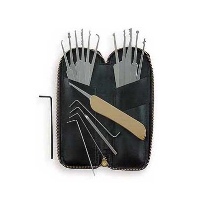 SouthOrd 17 Pcs Lockpick Set