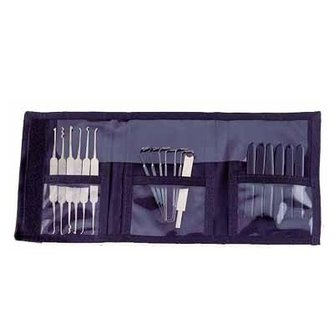 LAB 17 Piece Mini Lockpick Set