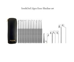 SouthOrd Slimline 22 Pcs Lockpick Set