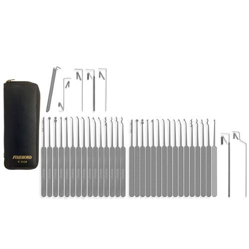 SouthOrd Slimline C3010 37 Pcs Lockpick Set