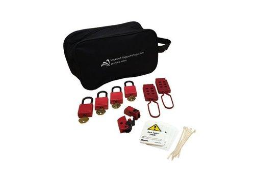 Filled lock-out pouche U1015E410KA