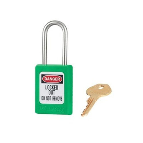 Zenex safety padlock green S31GRN
