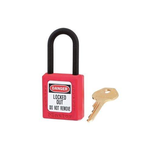 Zenex safety padlock red 406RED
