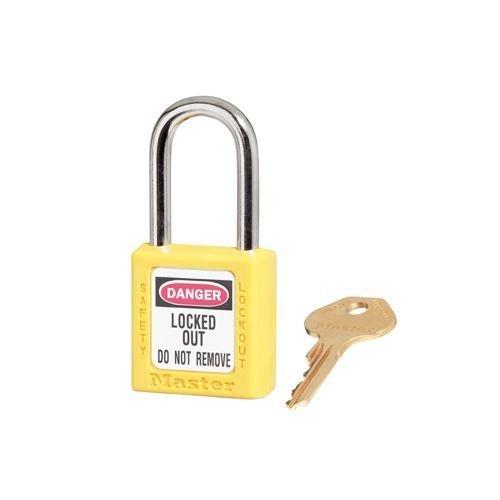 Zenex safety padlock yellow 410YLW