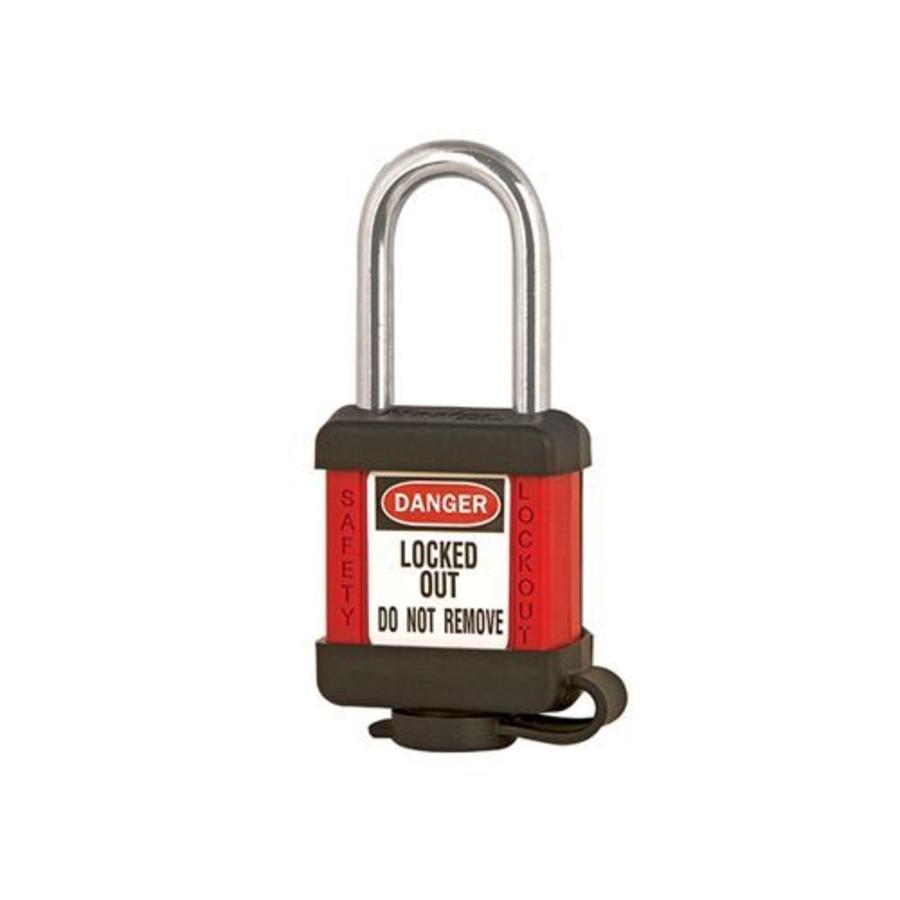 Zenex safety padlock red 410RED - 410KARED