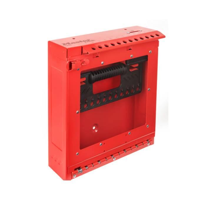 Master Lock Wall Mountable Group Lockout Box S3502