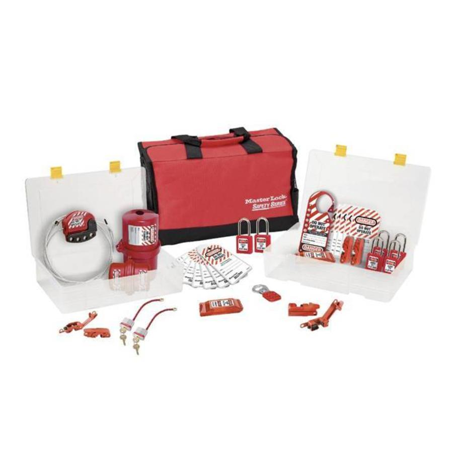 Filled lock-out toolbox 1458VES31