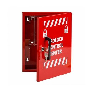 Brady Padlock control center c/w 8 hooks 800119