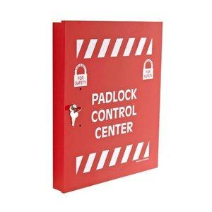 Brady Padlcok control center c/w 18 hooks 800118