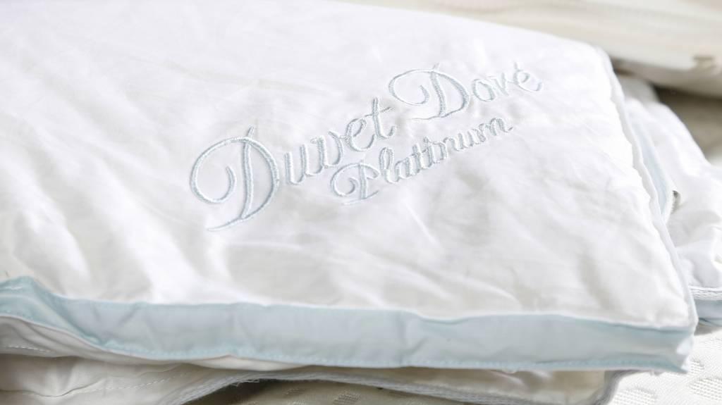 Ducky Dons Kussen : Duckydons duvet doré platinum donzen voor najaars dekbed gratis