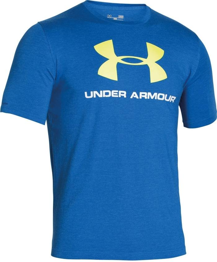 Under armour sportstyle logo t shirt special gear for Under armour big logo t shirt