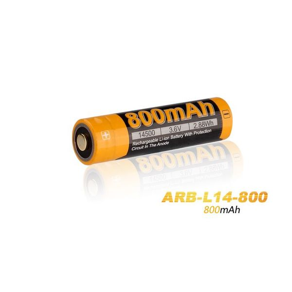 Fenix Oplaadbare Li-ion Batterij ARB-L14-800