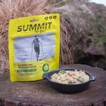 Summit to eat Salmon with Broccoli pasta