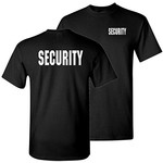 Mil-Tec T-Shirt Security zwart
