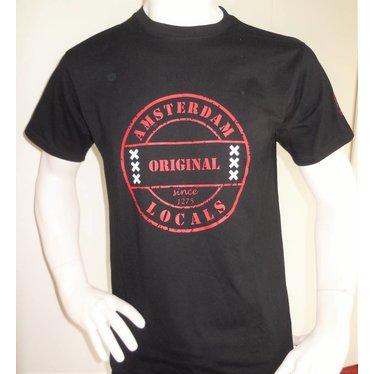 Amsterdam Locals Heren T-Shirts Amsterdam Locals