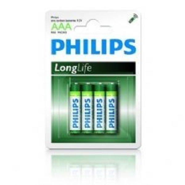 Philips alkaline Longlife 4xAAA