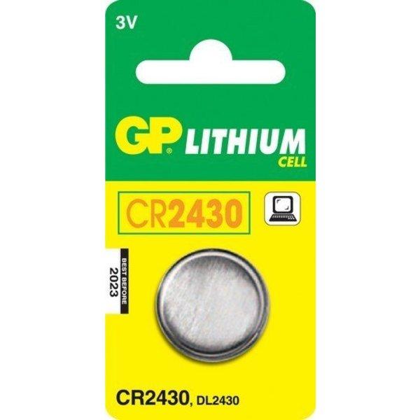GP knoopcel batterij CR2430 - 3V