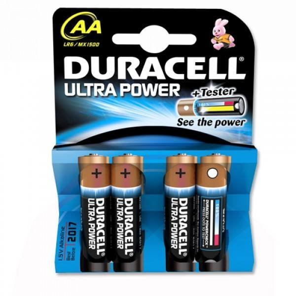 Duracell batterij Ultra Power penlite AA