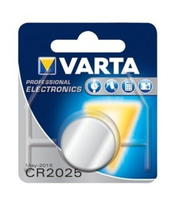 Varta Varta Knoopcel Lithium CR2025 3V Ø20x2,5mm