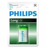 Philips Philips 9V longlife blokbatterij