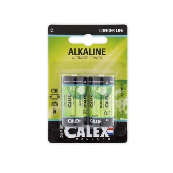 Calex Alkaline C batterij blister