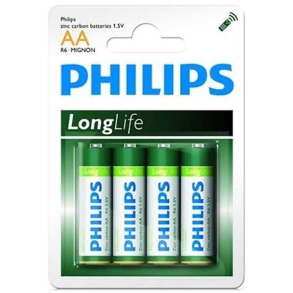 Philips alkaline Longlife 4xAA