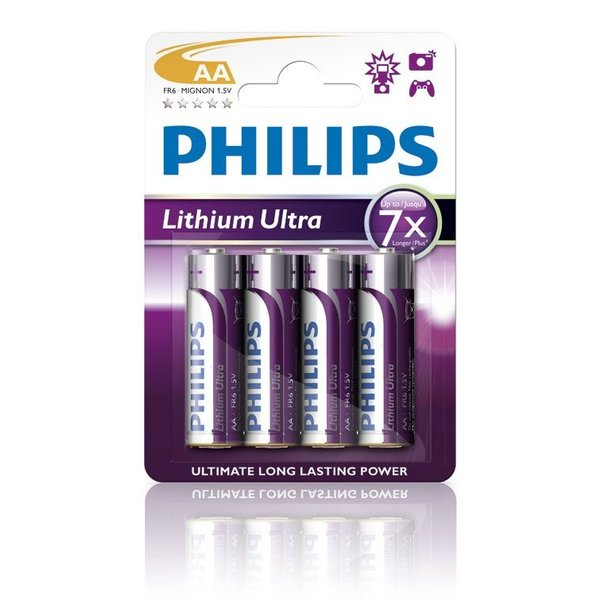 Philips lithium ultra AA