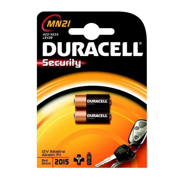 Duracell MN21 security 12V