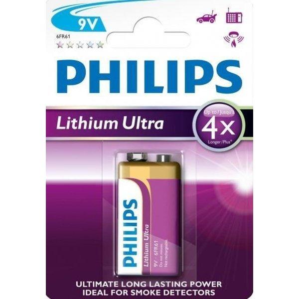 Philips lithium Ultra 9V blok