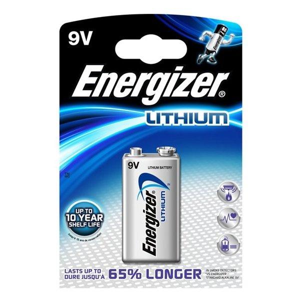 Energizer lithium ultimate 9V