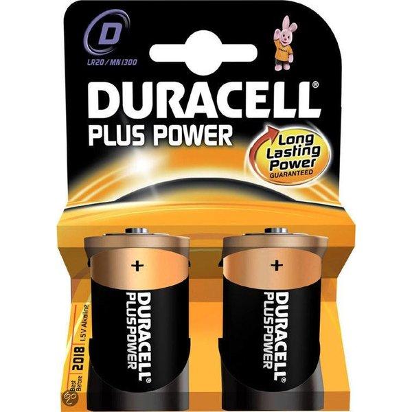 Duracell Plus Power D 1,5V