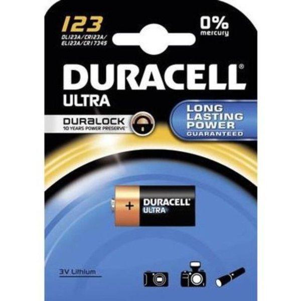 Duracell 123 foto batterij 3V