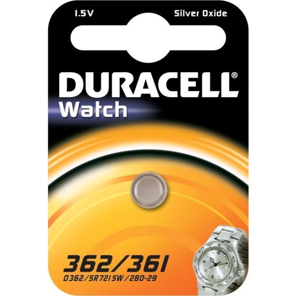 Duracell 362 / 361 1,5V knoopcel