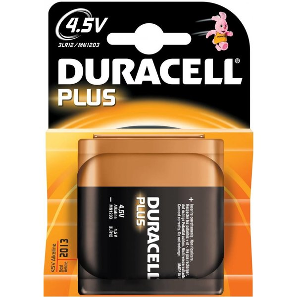 Duracell MN1203 plus power 4,5V